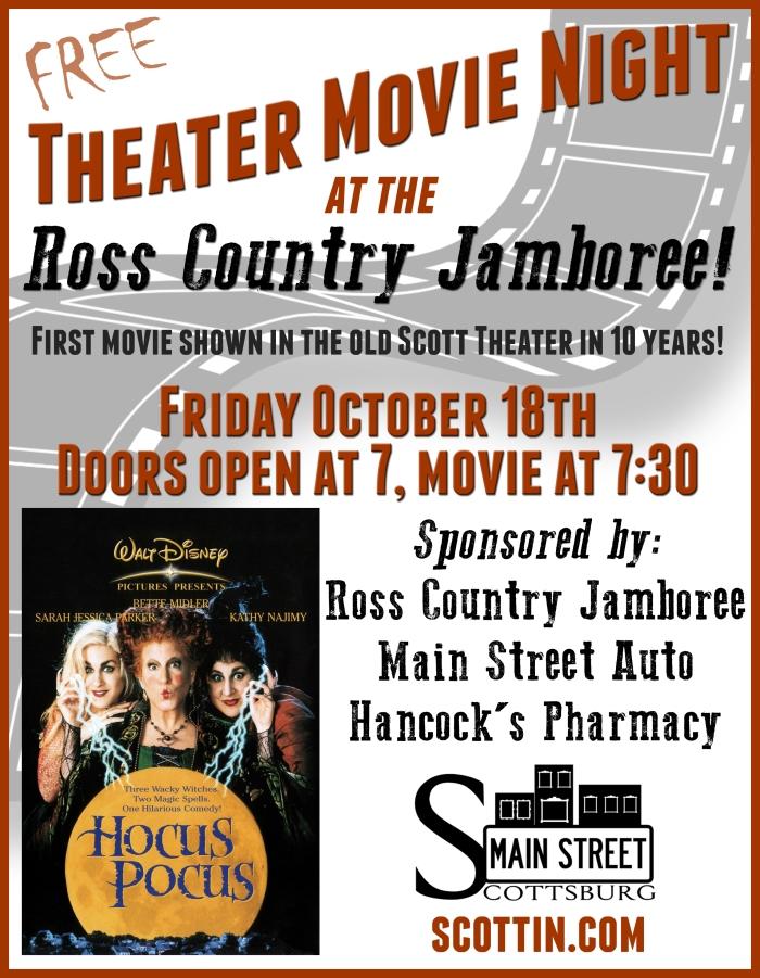 October Movie Night!!!!!!!!!