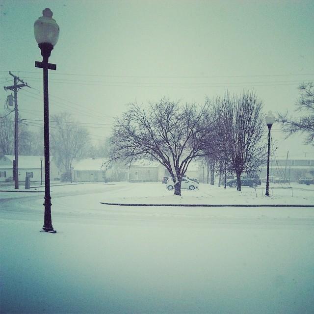 Friday Snow!