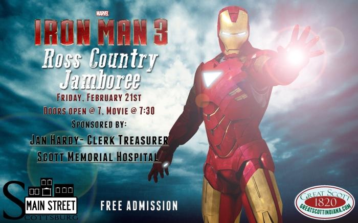 Scottsburg Main Street free movie night!
