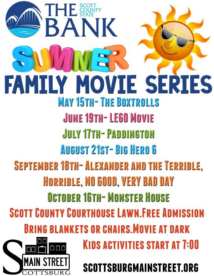 Summer Movie Series2015